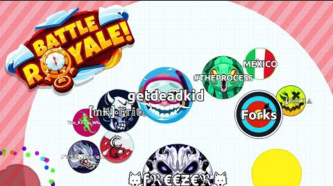 AGAR.io Battle Royale